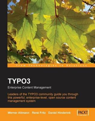 Typo3: Enterprise Content Management by Rene Fritz