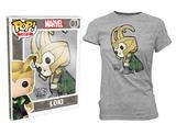 Thor - Loki Pop! T-Shirt Womens (Small)