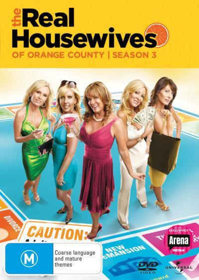 Real Housewives of the Orange County - Season 3 on DVD