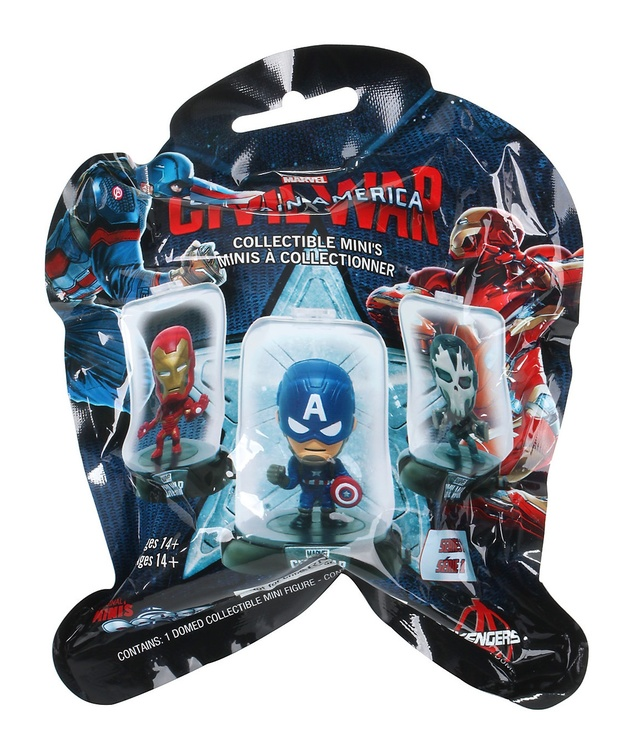 Domez: Captain America 3 Mini Figure - Blind Bag