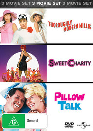 Thoroughly Modern Millie / Sweet Charity / Pillow Talk (3 Disc Set) on DVD image