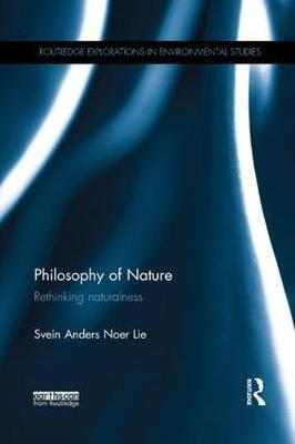 Philosophy of Nature by Svein Anders Noer Lie image