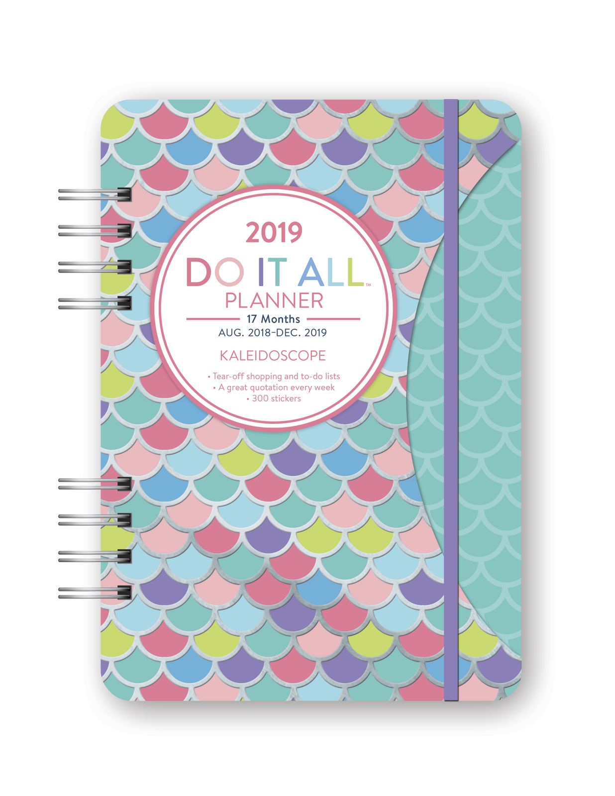 Do It All: Kaleidoscope 17 Month 2019 A5 Diary image