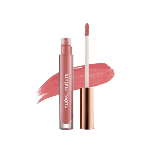 Nude By Nature: Moisture Infusion Lipgloss - #03 Coral Blush