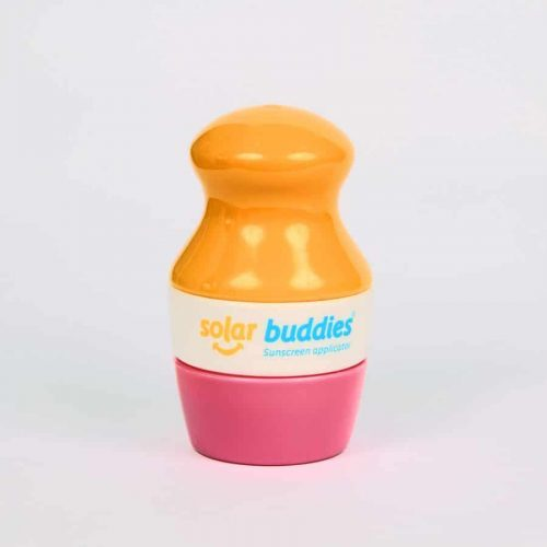 Solar Buddies - 1 Solar Buddie with 1 replacement cap-pink/yellow