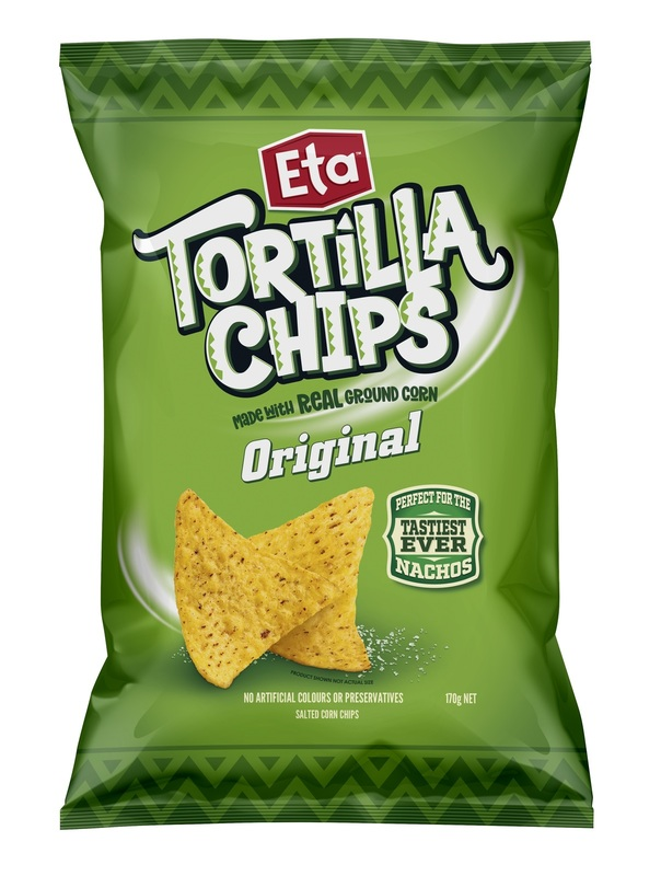 Eta Tortilla Chips Original (170g x 12)