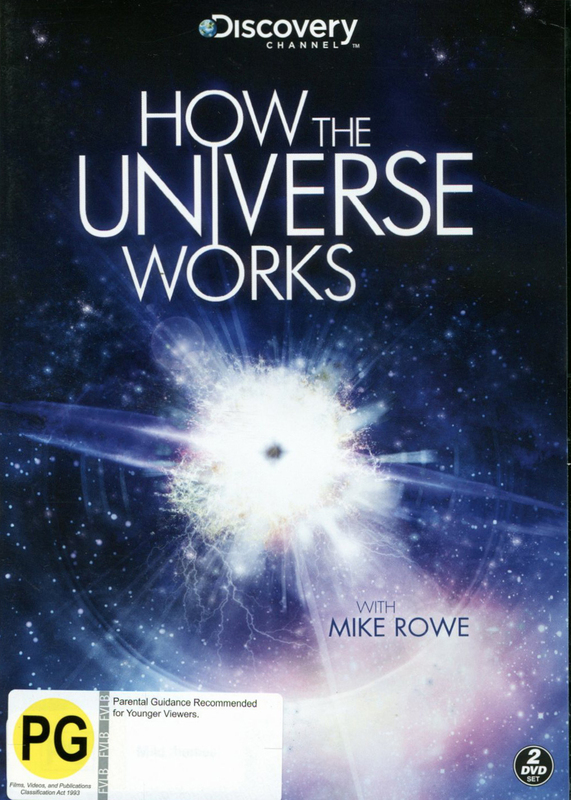 How The Universe Works with Mike Rowe on DVD