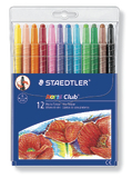Staedtler Noris Club 221 Wax Twisters Pkt12