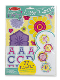 Melissa & Doug: Simply Crafty Personalized Letter Flowers