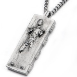 Star Wars Han Solo Carbonite Pendant Necklace
