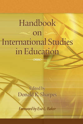 Handbook on International Studies in Education image
