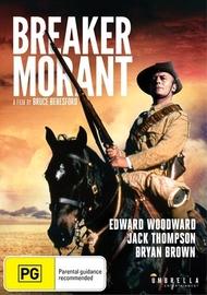 Breaker Morant on DVD