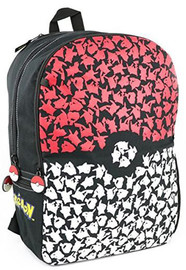 "Pokemon: Pokeball All-Over Print - 18"" Backpack"