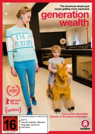 Generation Wealth on DVD image