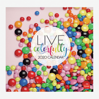 Legami: Live Colorfully 2020 Wall Calendar