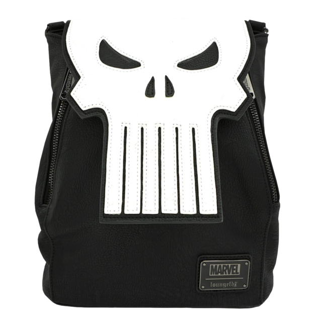 Loungefly: Punisher Mini Backpack - Logo