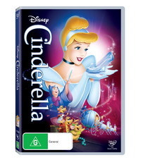 Cinderella (1950) on DVD image
