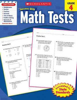 Math Tests, Grade 4 image
