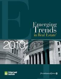 Emerging Trends in Real Estate 2010 by Urban Land Institute image