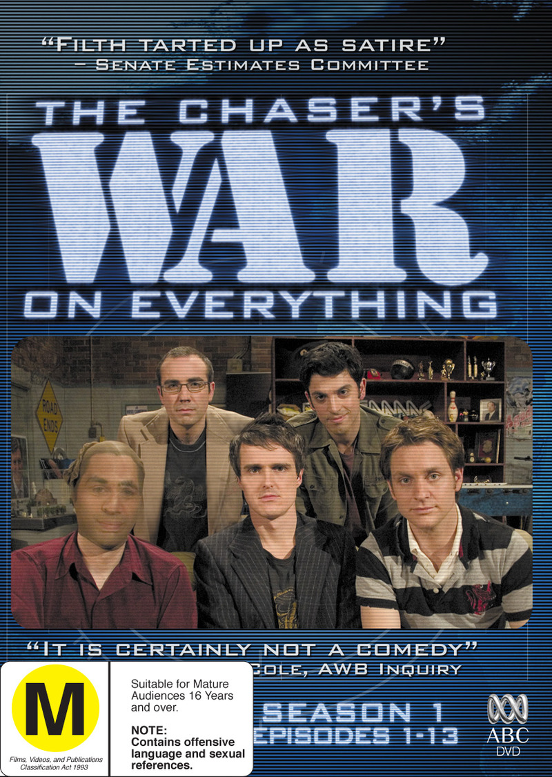 The Chaser's War on Everything - Season 1: Episodes 1-13 (2 Disc Set) on DVD image