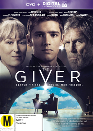 The Giver on DVD