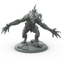 Fallout: Wasteland Warfare Wasteland Creatures: Deathclaw