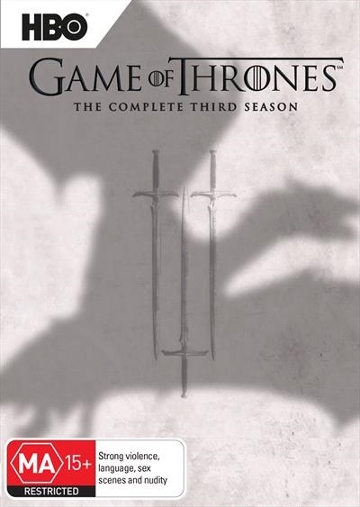 Game of Thrones - The Complete Third Season on DVD image