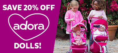 20% off Adora Dolls!