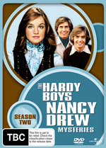Hardy Boys/Nancy Drew Mysteries, The - Season 2 (4 Disc Set) on DVD