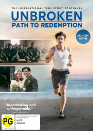 Unbroken - Path To Redemption on DVD