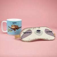 Sloffee Mug And Eyemask Set