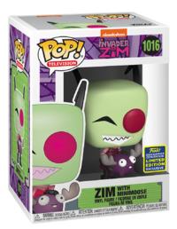 Invader Zim: Zim (with Minimoose) - Pop! Vinyl Figure