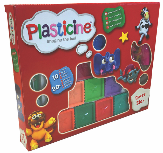 Plasticine - Tower Blox
