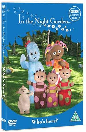 In the Night Garden: Who's Here? on DVD