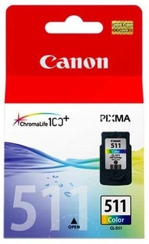 Canon Ink Cartridge - CL511 (Colour)