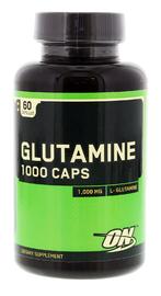 Optimum Nutrition Glutamine Capsules 1000mg (60 Caps)
