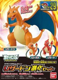 Pokemon Pokepura #29 Charizard Evolution Set - Model Kit