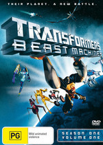 Transformers - Beast Machines: Season 1 - Vol. 1 on DVD