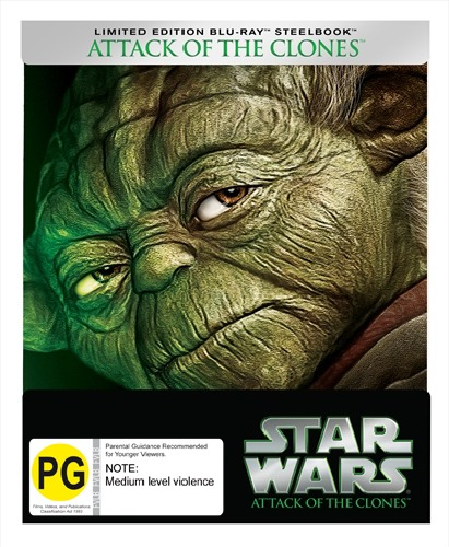Star Wars Episode II: Attack of the Clones on Blu-ray image