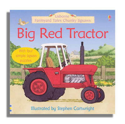 Big Red Tractor by Felicity Brooks