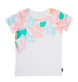 Bonds Short Sleeve Standard T-Shirt- Woodblock Floral (6-12 Months)