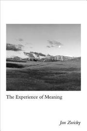 The Experience of Meaning by Jan Zwicky