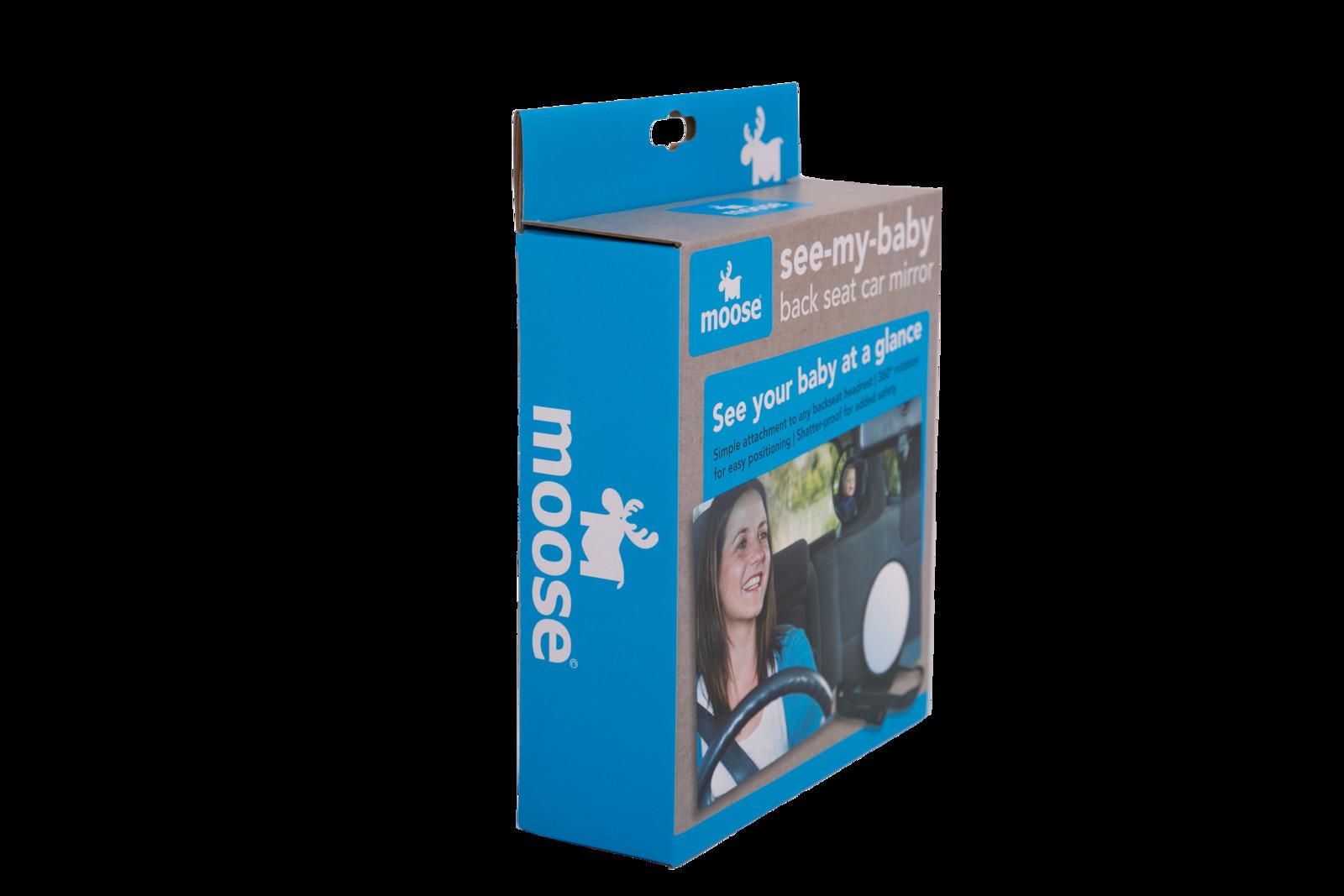 Moose See-My-Baby Back Seat Car Mirror image