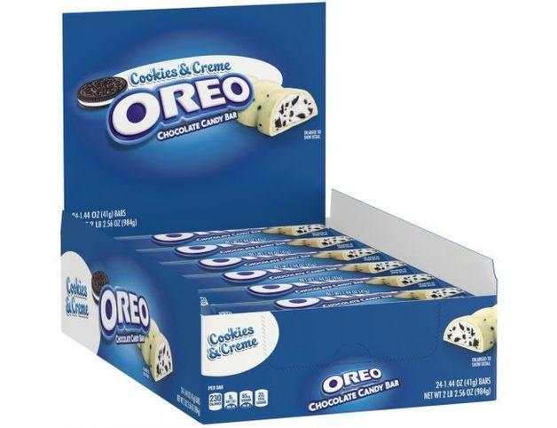 Milka Oreo Cookies and Cream White Candy Bar 24 x 40g pack