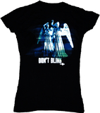 Doctor Who Weeping Angel Don't Blink Women's T-Shirt (Large)