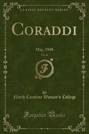 Coraddi, Vol. 44 by North Carolina Woman College
