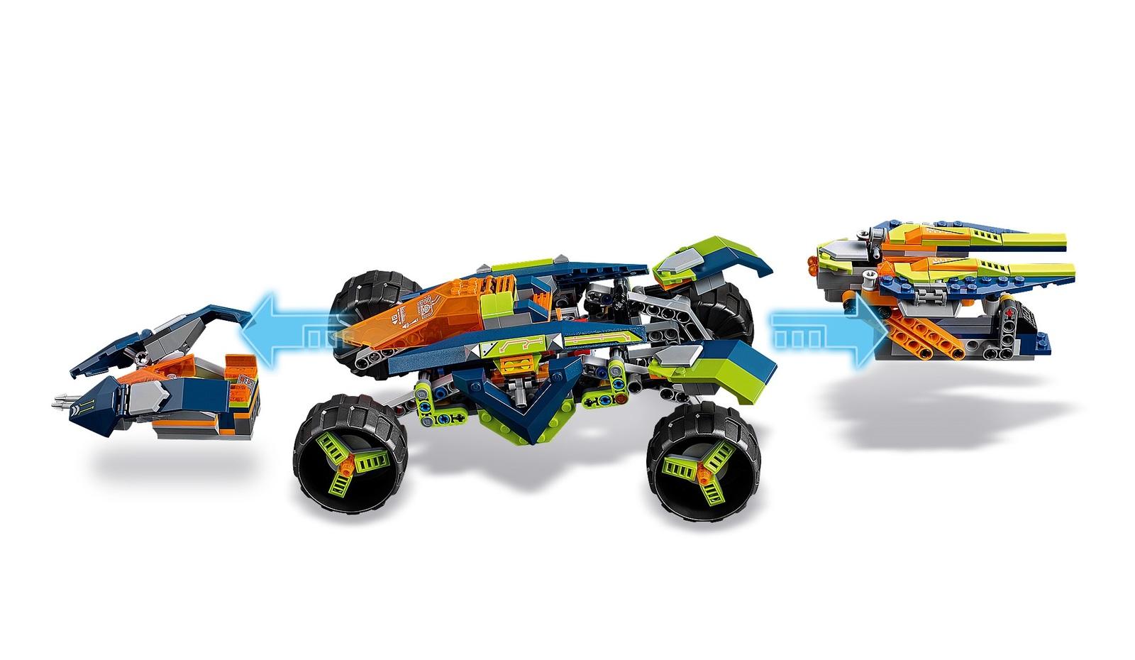 LEGO Nexo Knights: Aaron's Rock Climber (70355) image