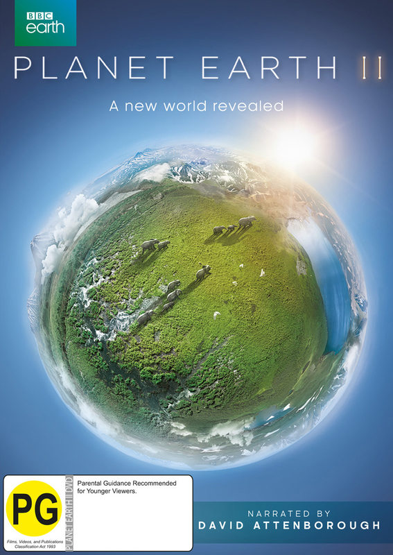 Planet Earth II on DVD