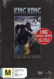 King Kong (2005) Special Edition (2 Disc Set) on DVD