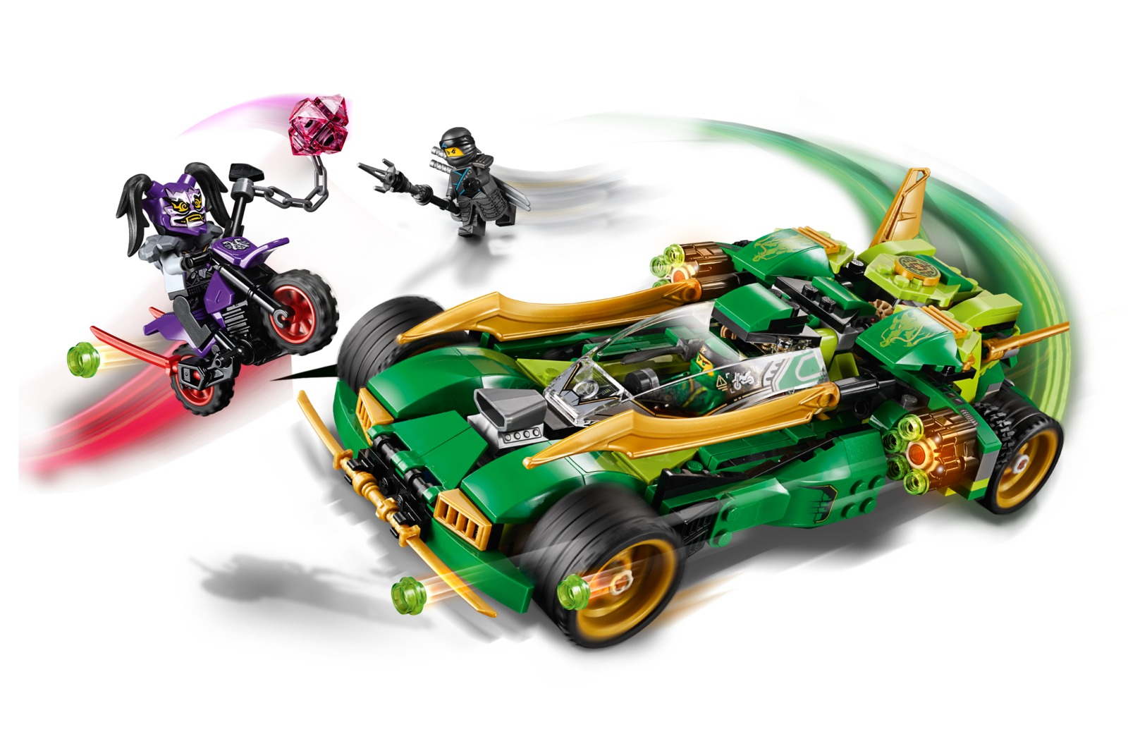 Lego Ninjago Ninja Nightcrawler 70641 Toy At Mighty